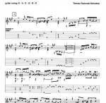 Noten von Tomasz Gaworek 2