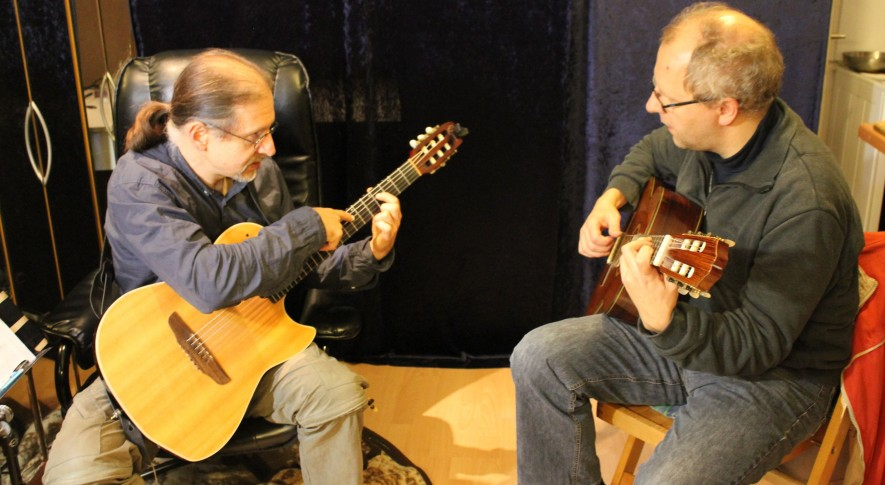 Gitarrenunterricht mit Erwachsenen 1
