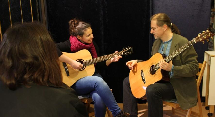 Gitarrenunterricht mit Jugendlichen 1